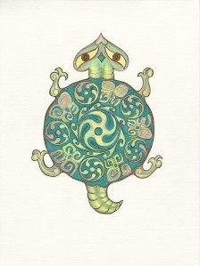 Turtle design by Meredith Eliassen.