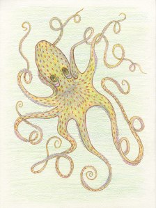 """Oli Octopus,"" designed by Meredith Eliassen, 2015."